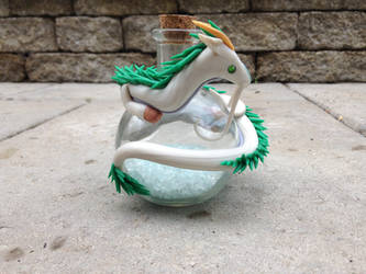 A Haku themed Dragon Commission