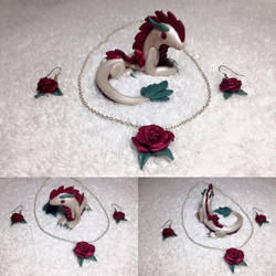 Rose Dragon and Jewelry