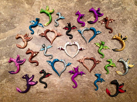 All of My Dragon Necklace Types