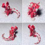 Butterfly Love Dragon Sculpture