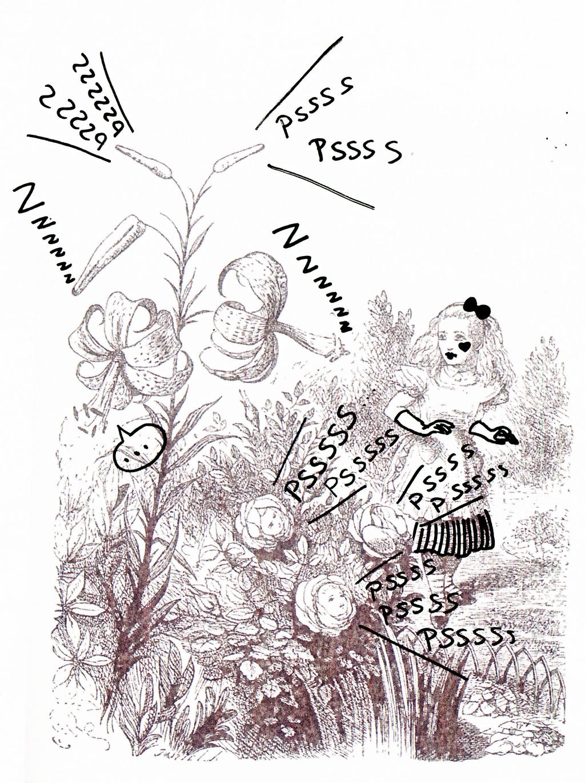 Alice Dans Un Jardin by CassandreLucas