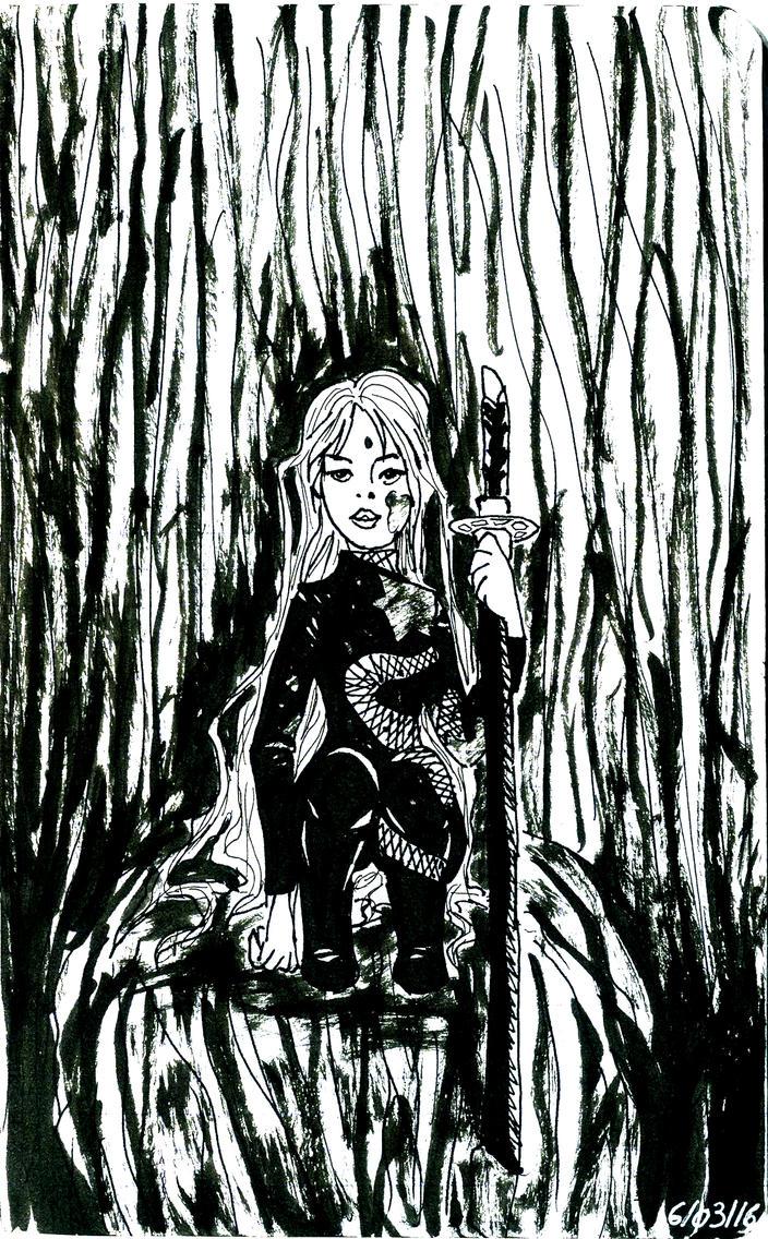 Assassin girl by CassandreLucas