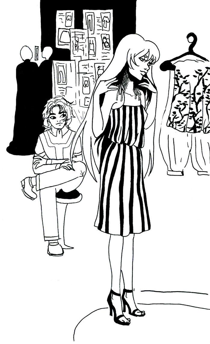 Shopping! by CassandreLucas