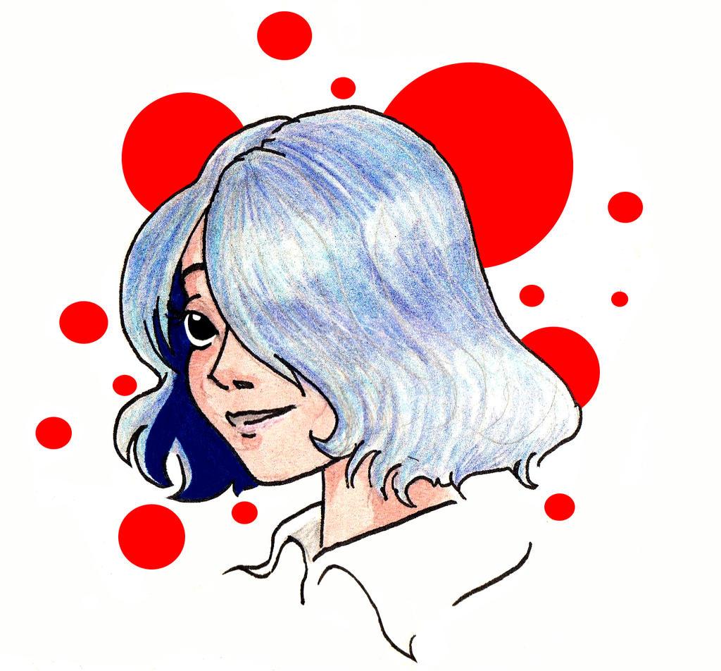 Jeune Fille Bleue ? by CassandreLucas