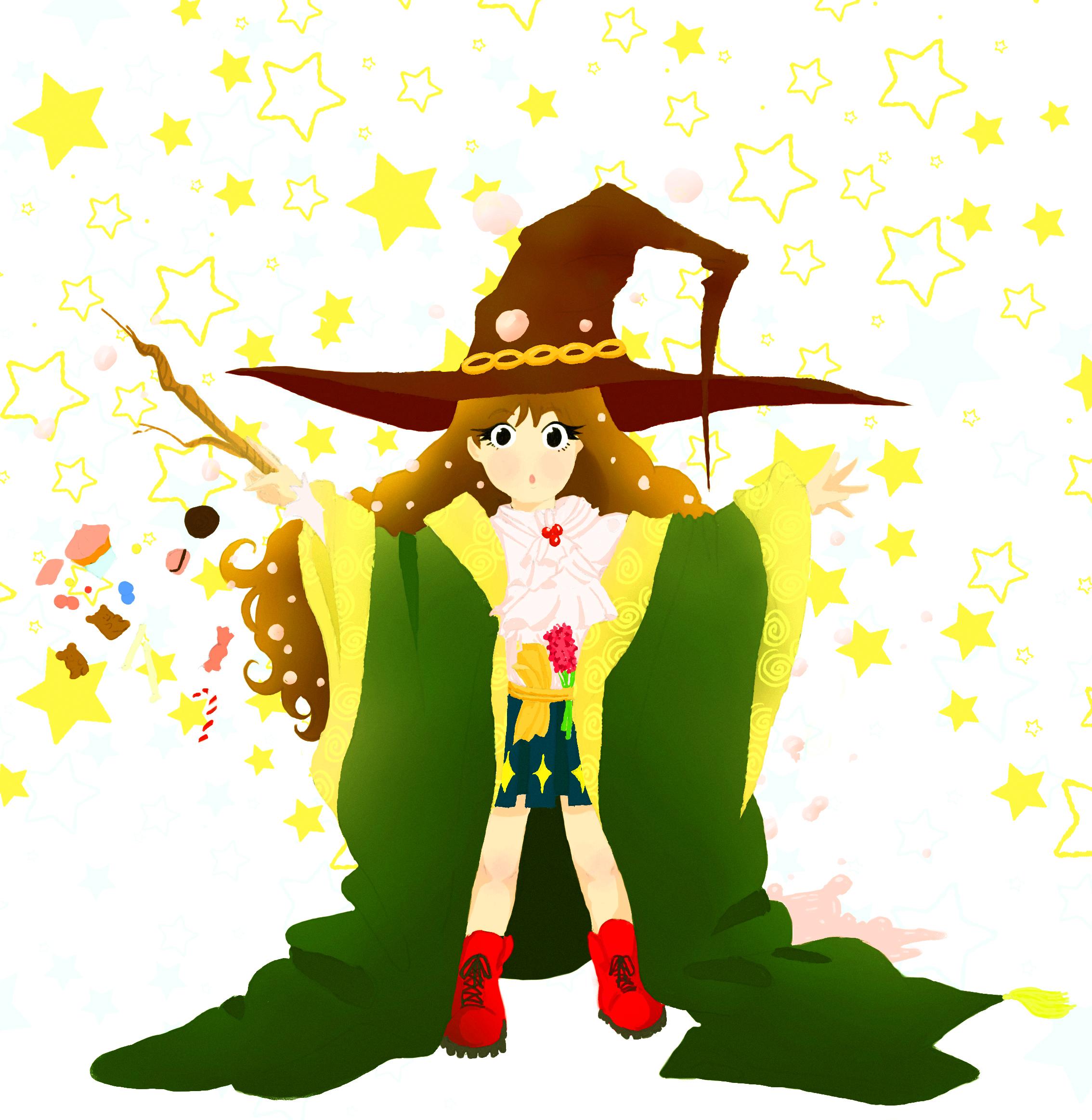 Little magic school Girl by CassandreLucas