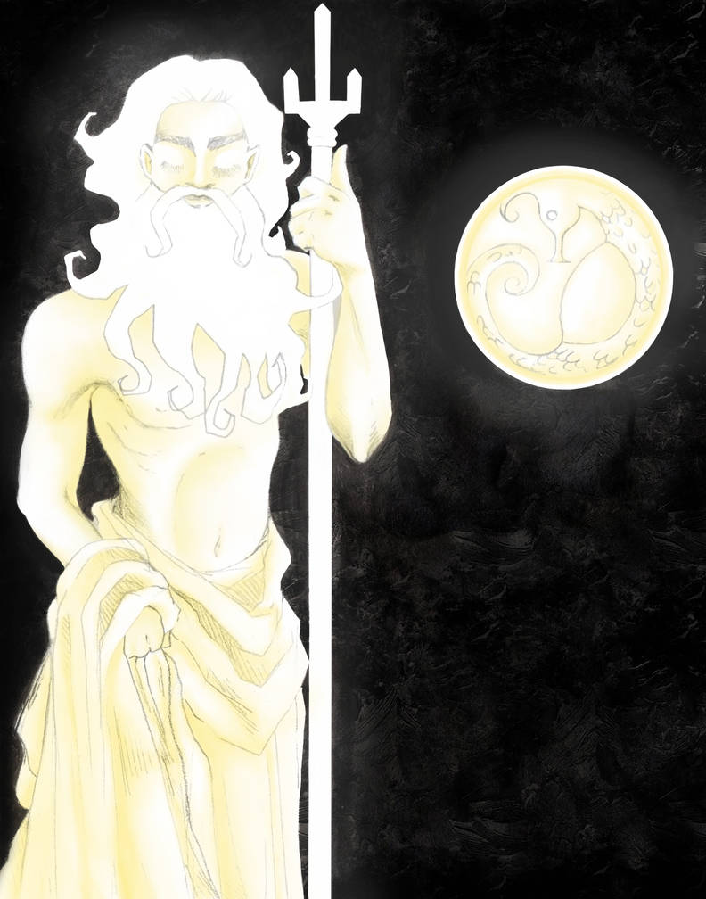 Poseidon by CassandreLucas