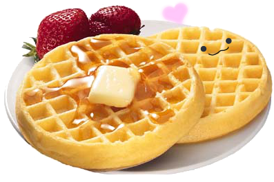 love Waffles by haleyproductions on DeviantArt