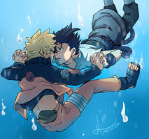 Narusasu - Diver by msloveless