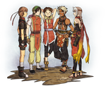 Suikoden Series - Leaders' Get Together