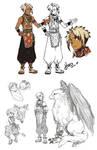 Suikoden - Hugo doodles