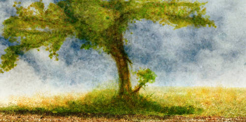 Tree Premade Background