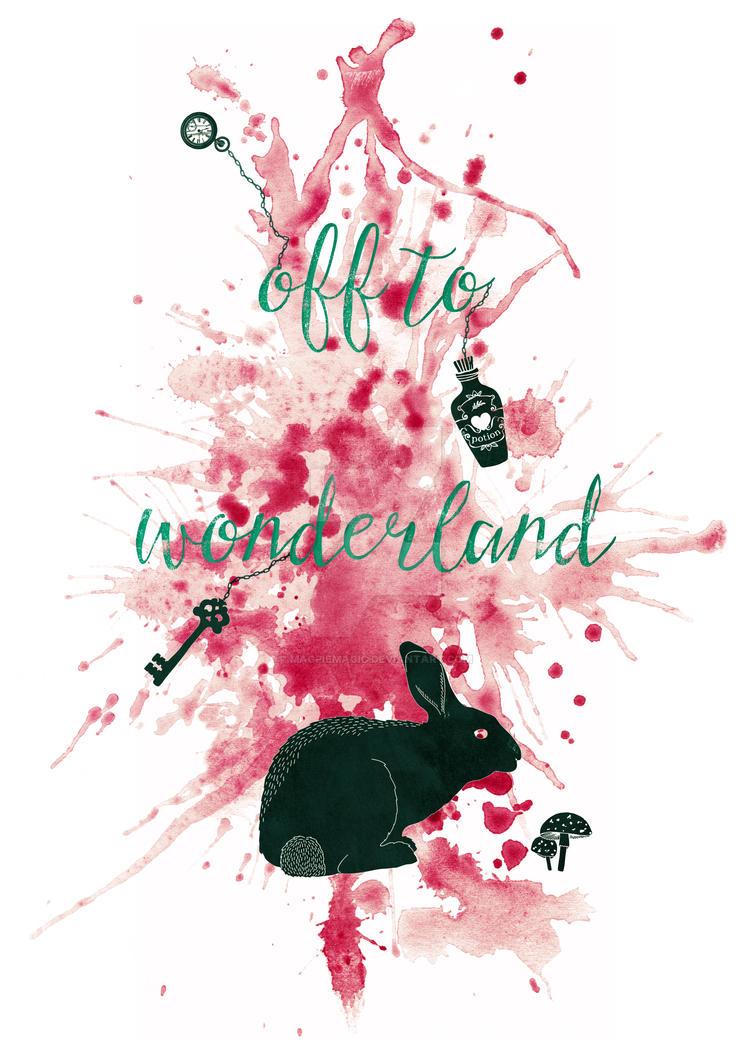 Off to Wonderland by MagpieMagic
