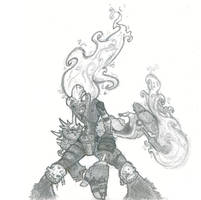 Sketchbook: Ghost Rider by Xero-Tau
