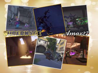 overwatch screenshot collage 1 by MageinSuperly