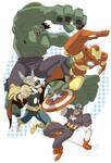 Avengers Print Proof for JALA