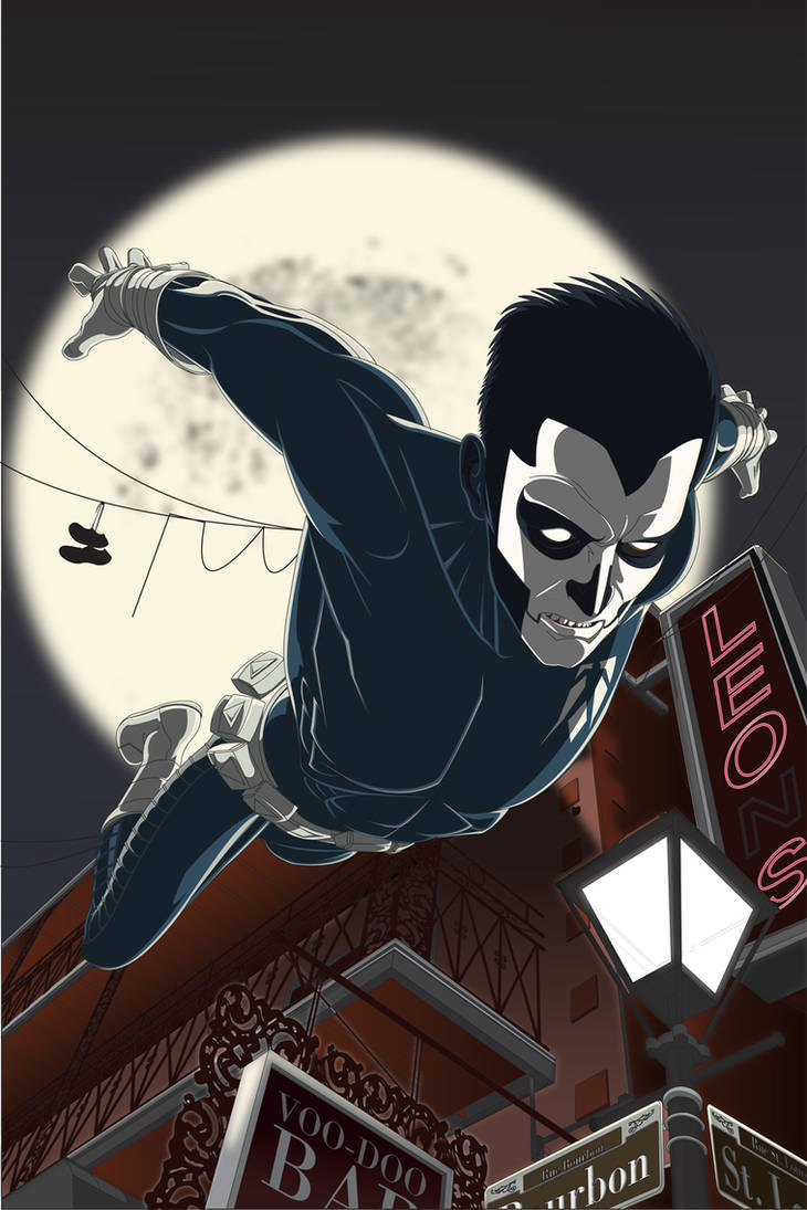Shadowman Cover for Valiant/Amazon Initiative
