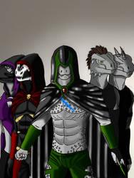 The Argonian Crew -Digital- by OrobasGreyScale