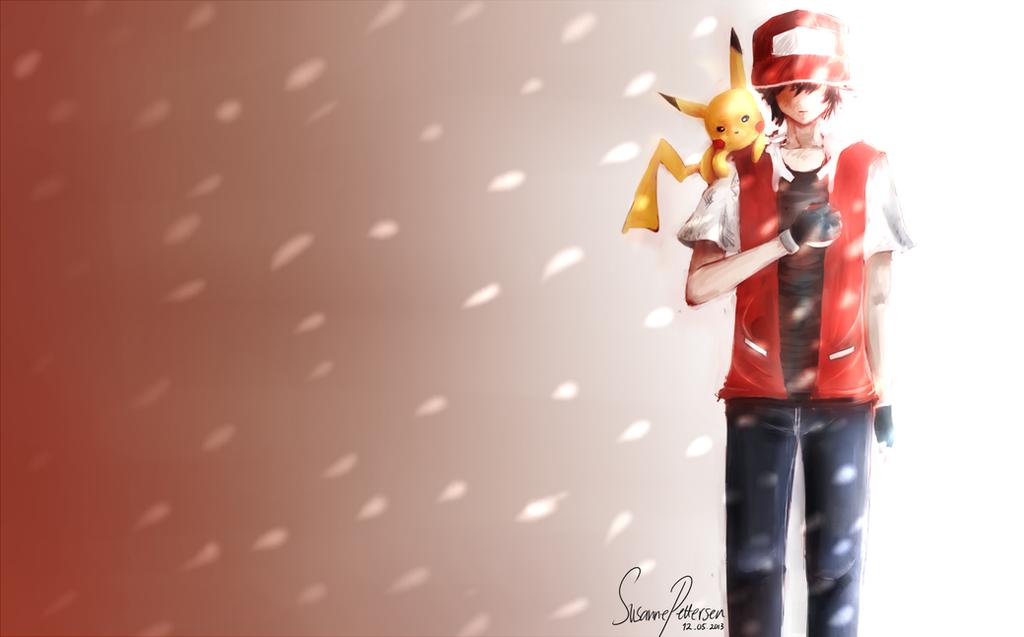 Trainer Red - Pokemon by Sornchai on DeviantArt