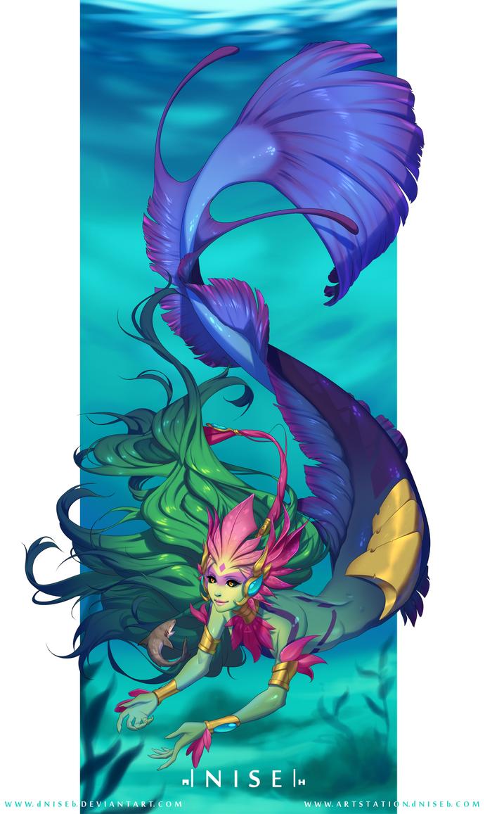 [LOL] - River Spirit Nami by dNiseb