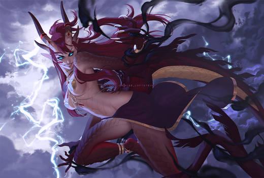 .:- Storm's Allure -:. - | ArtTrade + VIDEO