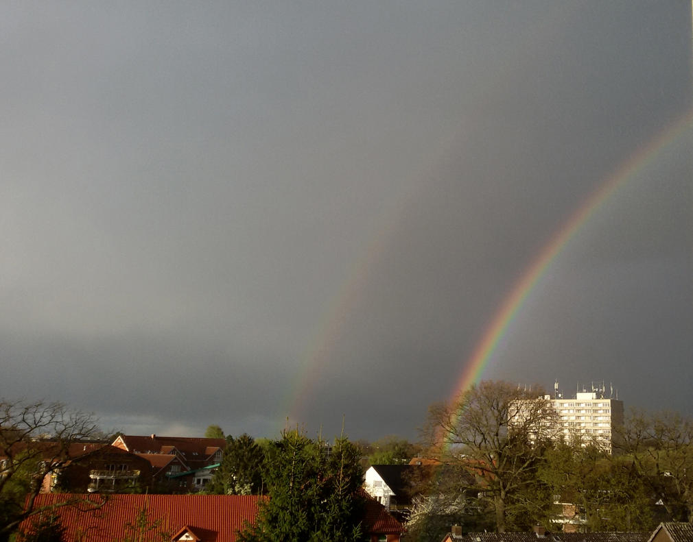 Double Rainbow Photographed by Vandarque