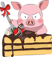 Accel World: My Cake! by blossomingdeath
