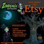 Zombienose Etsy!!