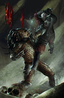 Predator vs General Ursus from Planet of the Apes