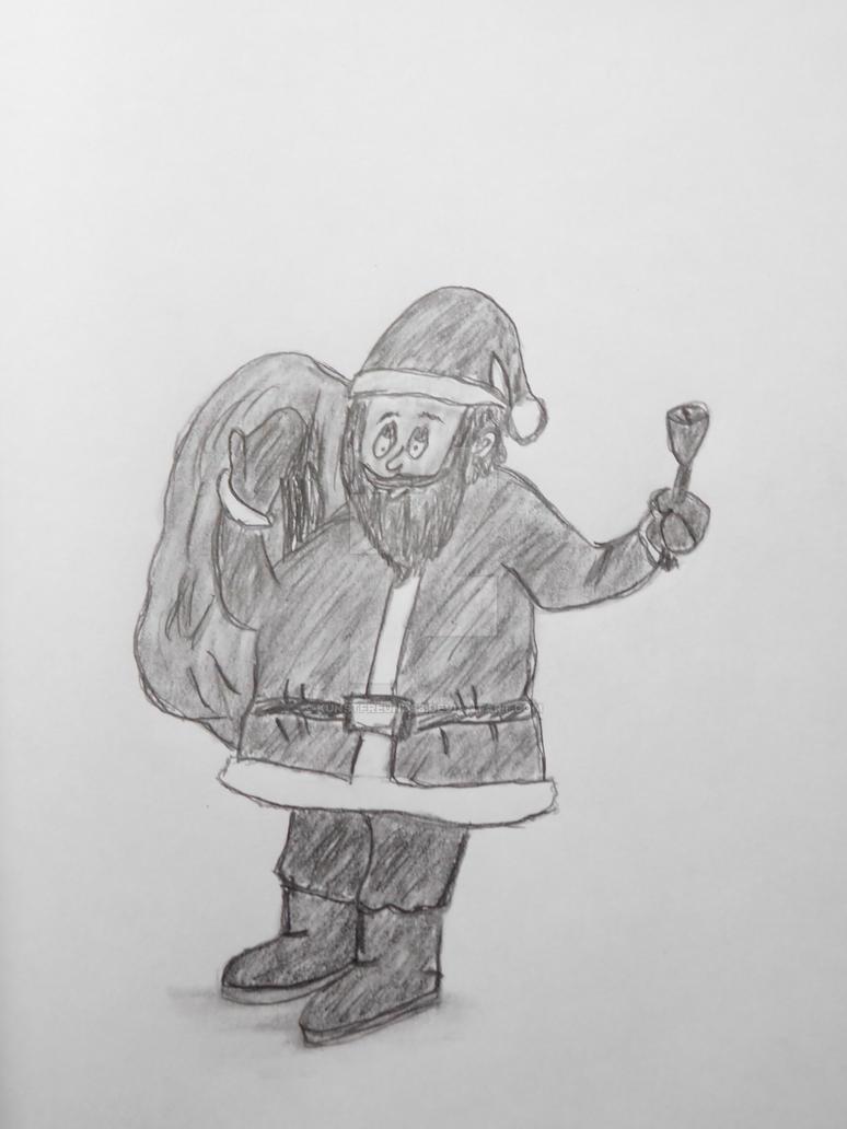 Santa Claus / Weihnachtsmann by Kunstfreund98