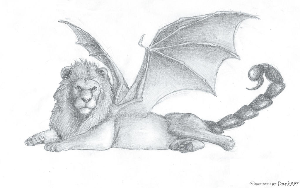 Manticore Drawing Related Keywords & Suggestions - Manticore ...
