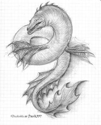 water dragon by Dark337