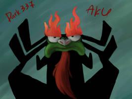 disgruntled Aku by Dark337