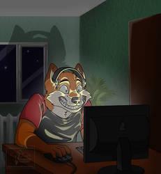 real gamer by Dark337