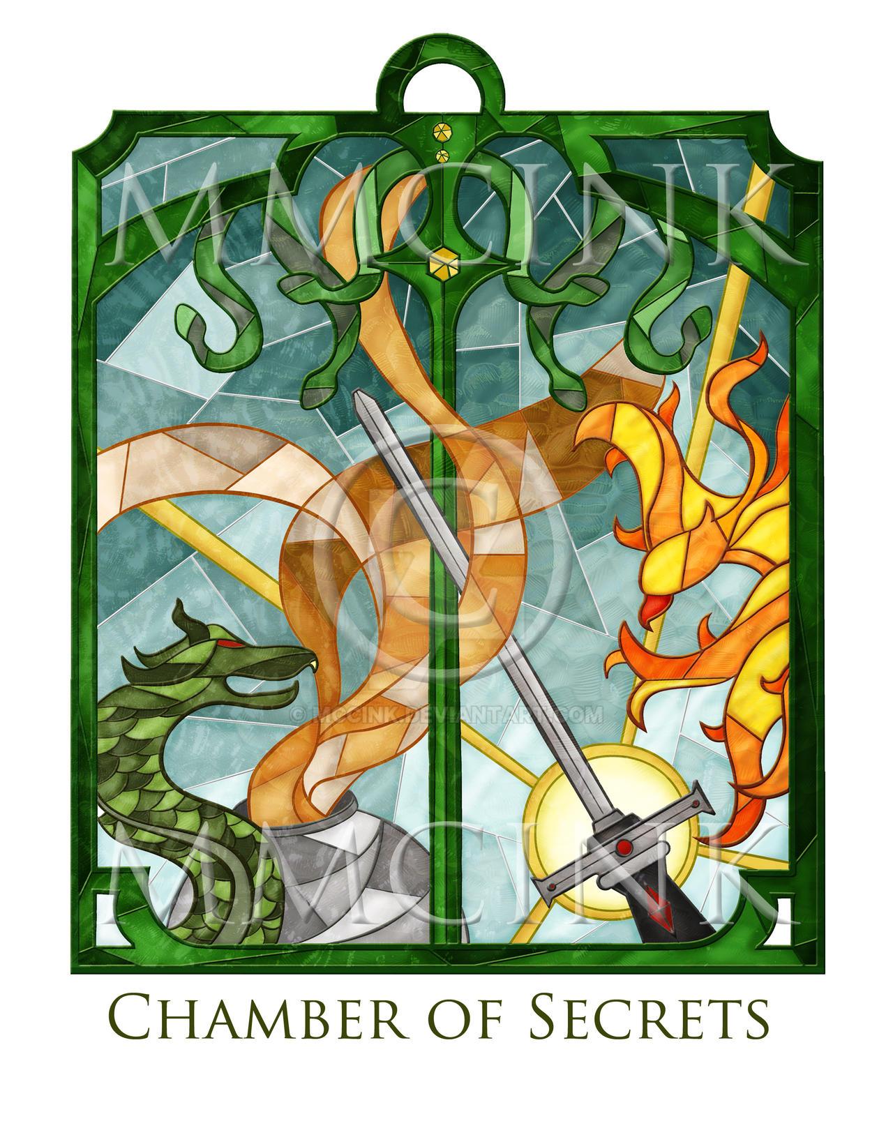 Magic Glass / Chamber of secrets by mccink
