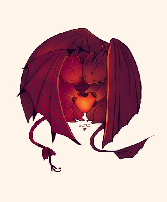 Dreamworks Dragons : Rise Of Berk Happy Valentine By Sweetylol ...