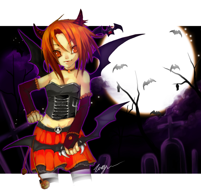 Roliana Halloween by tooaya