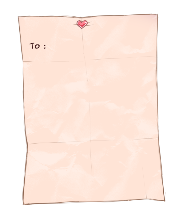 CH: Love Letter Template by tooaya on DeviantArt