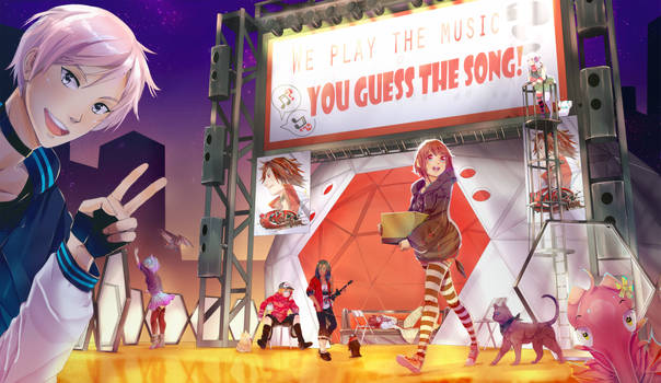 RE:V: NOS GUESS THE SONG BOOTH
