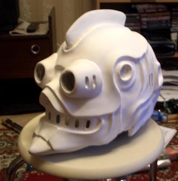 SH Mask in progress by dezan