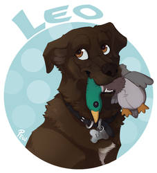 Leo Portrait by AlphaKupo