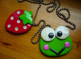 keroppi i truskawunia by too-emotional