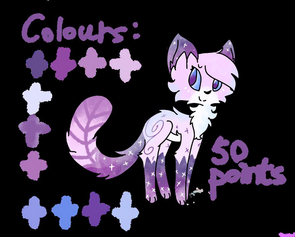 Cat oc ADOPT#5 (CLOSED) by SnowflakeWonder