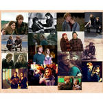 Ron and hermione college