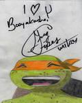 Greg Cipes Autograph