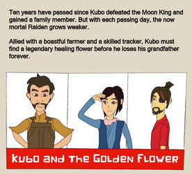 Kubo and the Golden Flower Cover