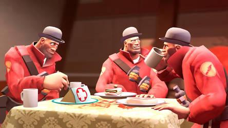Soldier Tea Party