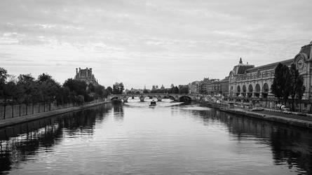 Paris B-W by PtiNono