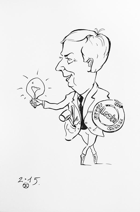 Carikature by kaltas