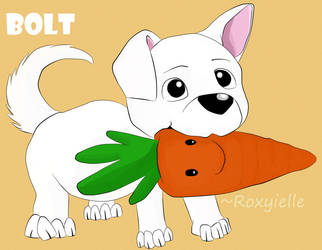Disney: Puppy Bolt and Carrot (SAI) by Roxyielle