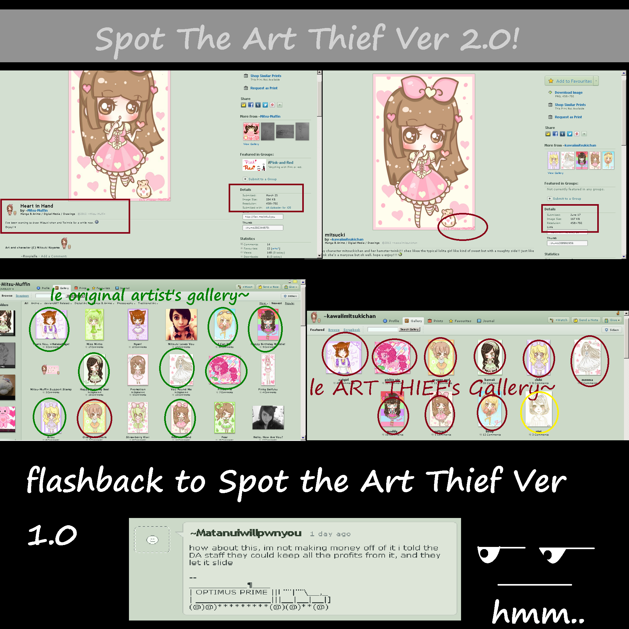 Spot The Art Thief Ver 2.0 by Roxyielle